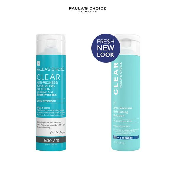Paulaschoice Clear ExtraStrength Anti Redness Exfoliating Solution With 2 SalicylicAcid 26854d9e1894d8b20