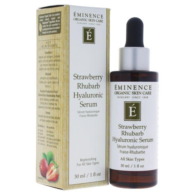 2. Eminence Strawberry Rhubarb Hyaluronic Serum